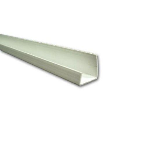 J PVC szegőprofil 12,5 mm gipszkartonhoz - 3 fm/db