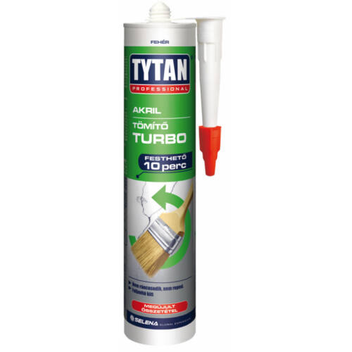 Tytan Turbo Akril tömítő fehér 310 ml